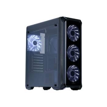 Zalman İ3 EDGE SERIES Glass Panel 4 pcs 12cm White Led Fan USB 3.0 Case